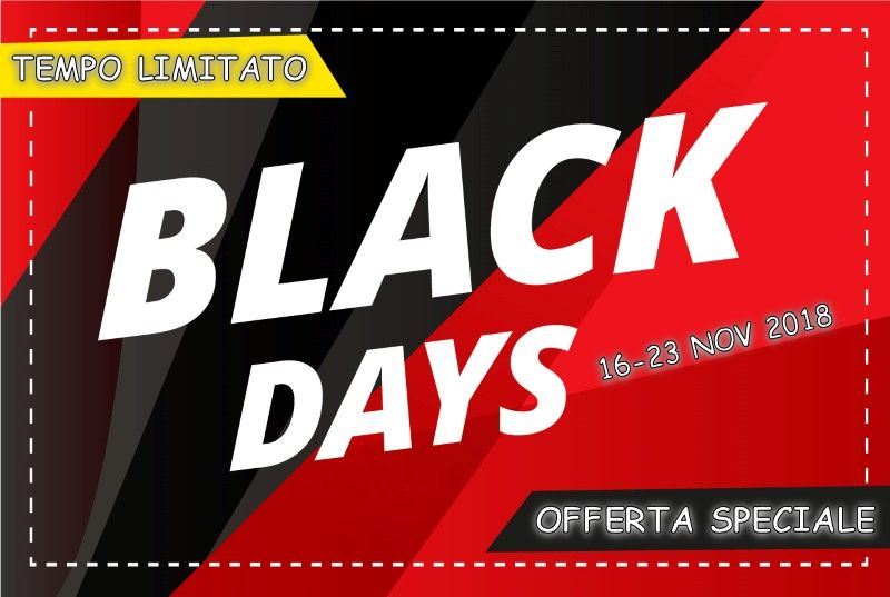 BLACK DAYS - SPECIALE NEVE VENETO